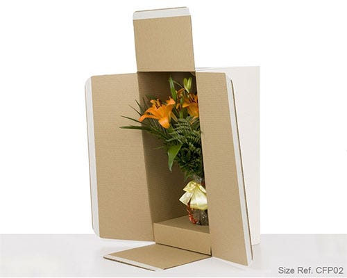 Flower Shipping Box