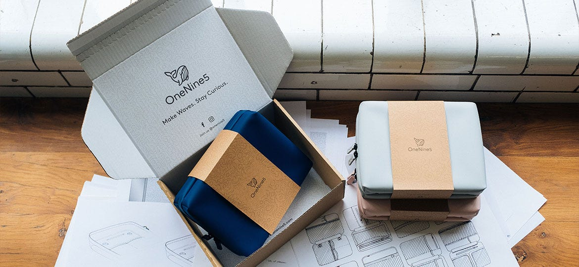 Sustainable Packaging for Eco-Friendly Brand OneNine5 | DS
