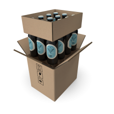 12 Bottle Shipping Box - 330ml