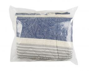 Medium Duty Clear Polythene Bags - Large