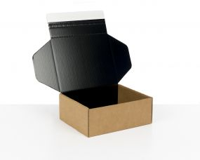 Black Cardboard Boxes for E-commerce