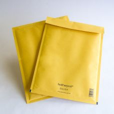 Gold Bubble Envelopes