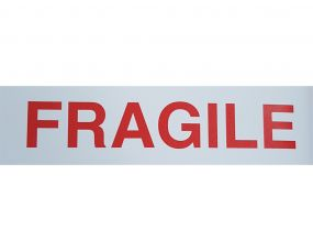 Warning Labels FRAGILE