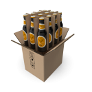Cardboard Beer Boxes 12 Bottles 500 ml
