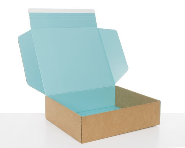 Tiffany Blue Cardboard Boxes for E-commerce