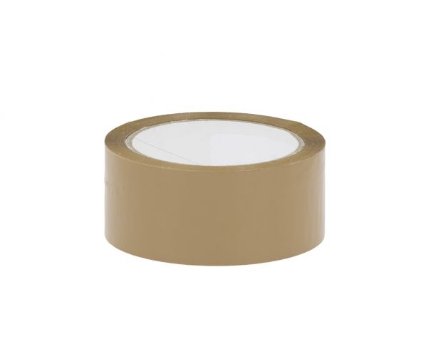 Low Noise Polypropylene Packing Tape- Brown
