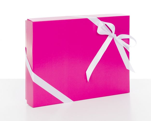 Pink Gift Boxes with Lids