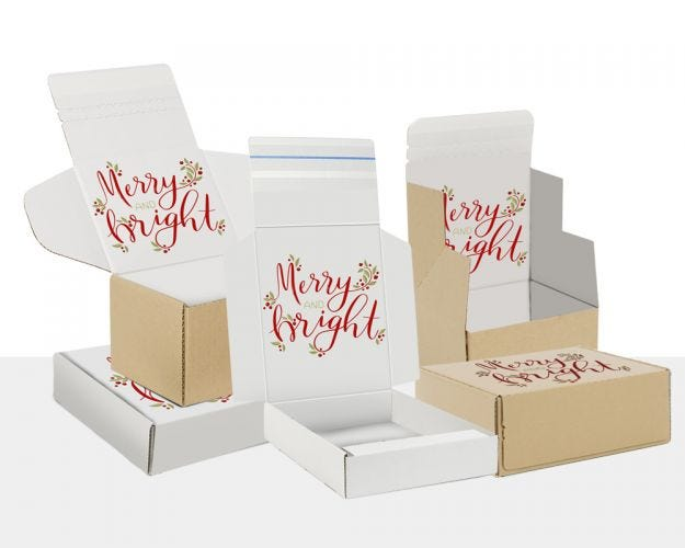 Boxes with Merry&Bright