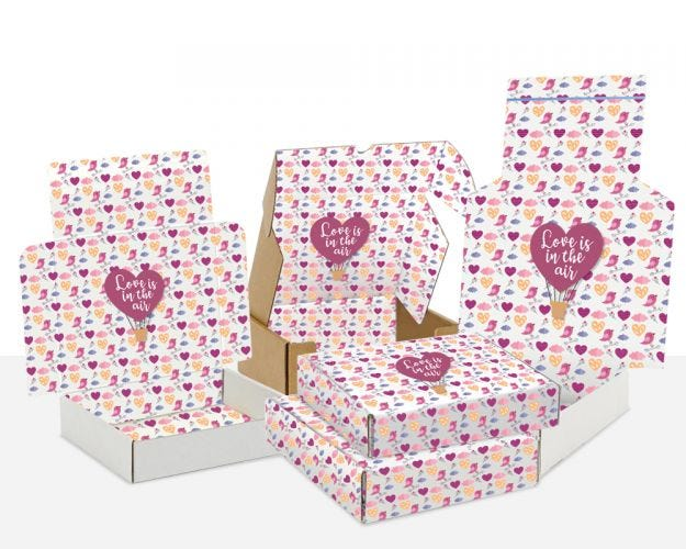 Boxes with Love is in the air